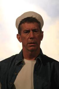 photo provided by Landmark Community Theatre. Lou Guertin as Luther Billis