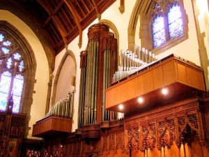 (submitted) St. Michael's magnificent pipe organ has 2,221 pipes and was built by Quimby Pipe Organs.  Organist Daniel Scifo will present an organ recital at St. Michael's on Sunday, February 1, beginning at 12pm.