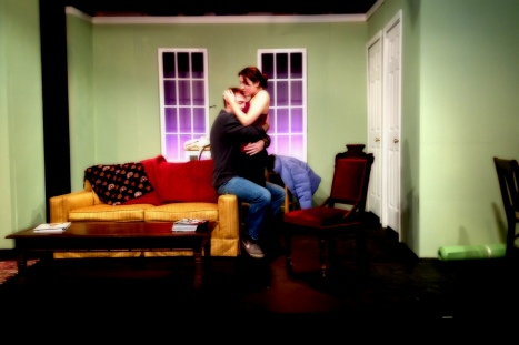 Kailee Donovan and Chet Ostroski in BELLEVILEE
