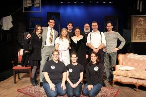 the cast and crew of The Glass Menagerie-photo by BTE