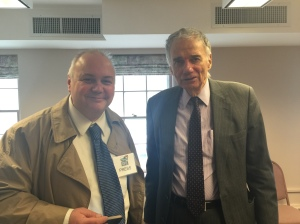 J. Timothy Quirk with Ralph Nader
