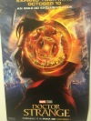 promotional poster given to those who attended the preview